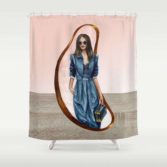 Stylish Shower Curtain By Hornadine