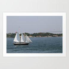 Narragansett Bay III Art Print