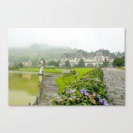 Hotel Quitandinha Canvas Print