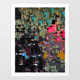digital stuff I Art Print