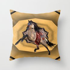 HORSE - Dreamweaver Throw Pillow