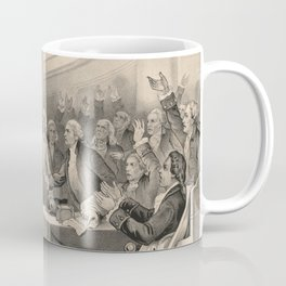 Give Me Liberty of Give Me Death Patrick Henry March 23rd, 1775 Coffee Mug