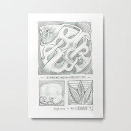December  Metal Print