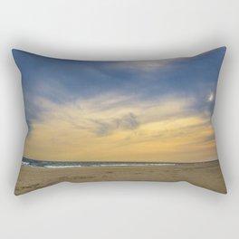 Quiet Beach Rectangular Pillow