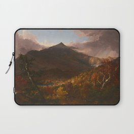 View of Schroon Mountain, Essex County, New York, After a Storm by Thomas Cole Laptop Sleeve