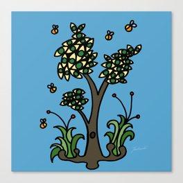 Eye Tree Canvas Print