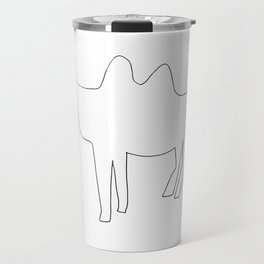 Line Camel Travel Mug
