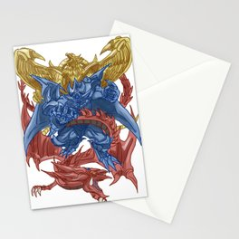 Egyptian God Monsters Stationery Cards