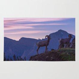 Bighorn At Sunrise Rug