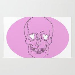 Skull Love Rug