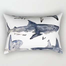School or Shiver Rectangular Pillow