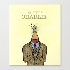Je suis Charlie Canvas Print