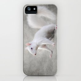 Albino Squirrel iPhone Case