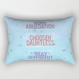 Truly Divergent Rectangular Pillow