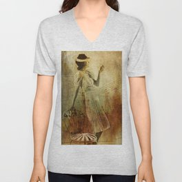 In Vogue Unisex V-Neck