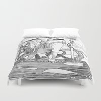 apollonia Duvet Covers featuring asc 515 - Sketchwork by From Apollonia with Love