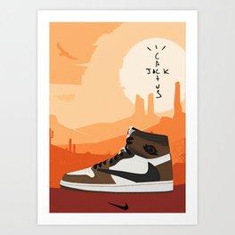 Travis Jordan 1 Scott Poster Art Print
