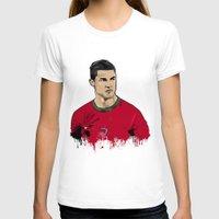 ronaldo T-shirts featuring Cristiano Ronaldo by J Maldonado