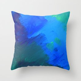 The woods are lovely, dark and deep  Throw Pillow
