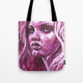 Lindsay Wixson Tote Bag