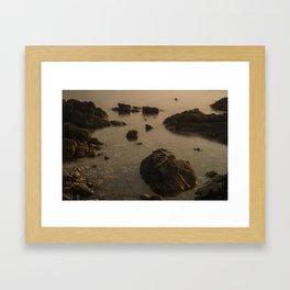 Koh Phangan Rocks Framed Art Print