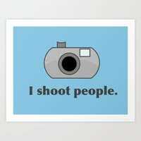 humor Art Prints featuring Photography Humor by Murphis the Scurpix