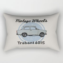 Vintage Wheels - Trabant 601S Rectangular Pillow