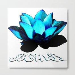 Lotus Flower Bomb Metal Print