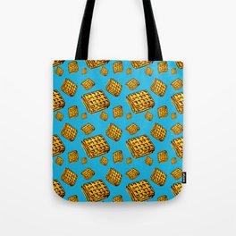 Waffle morning Tote Bag