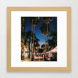 Lincoln Rd Framed Art Print