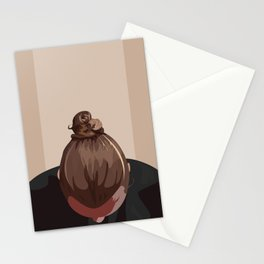 Man I Like Your Bun Stationery Cards