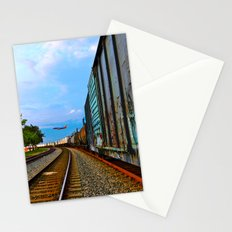 Planes, Trains, but no Automoblies Stationery Cards