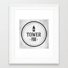 Tower Park Framed Art Print