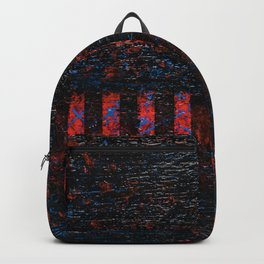 Barbed Wire (Black Abstract) Backpack