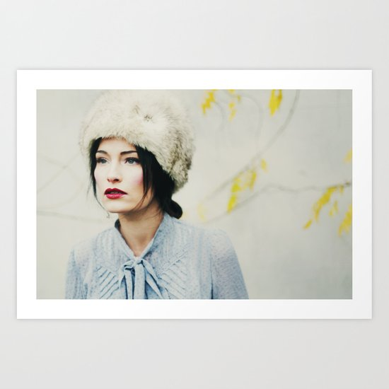 Russian Winter Art Print