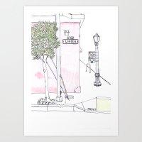 Miette, San Francisco Art Print