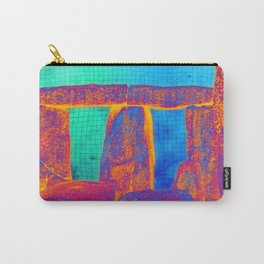 Stonehenge Meets Pop Art Carry-All Pouch