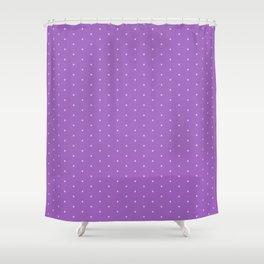 Lavender Dots Shower Curtain