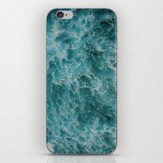 faded waves iPhone & iPod Skin