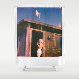 PHONE HOME Shower Curtain