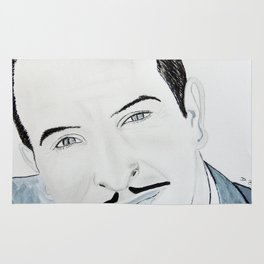 Jean Dujardin Rug