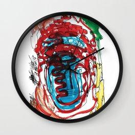 Buddah! head Wall Clock