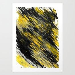 Bee's Swirl Art Print