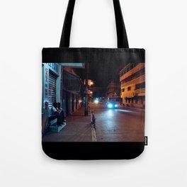 Una Noche Tranquila En Honduras Tote Bag