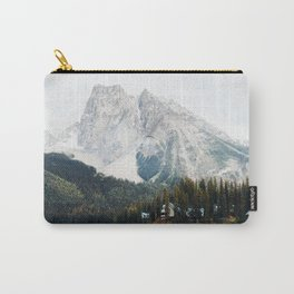 Lake in Canada Rocky Mountains Alberta British Columbia Carry-All Pouch
