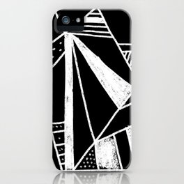 Chalkboard Mayhem iPhone Case