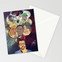 the thinking man Stationery Cards