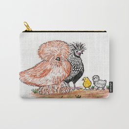 A bunch of Chickens Carry-All Pouch