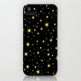 Hufflepuff Chapter Stars iPhone Case