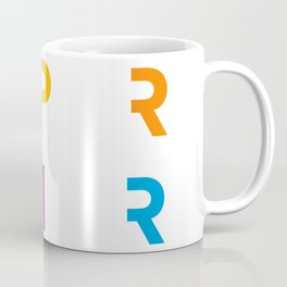 SPRFTR Rainbow Graphic Coffee Mug